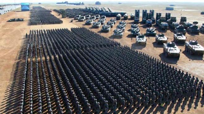 Trung Quốc tăng ngân sách quân sự năm 2021 lên hơn 208 tỉ USD ảnh 1