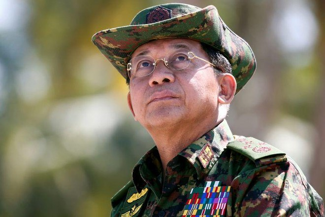 Mỹ trừng phạt hai con của Tổng tư lệnh quân đội Myanmar ảnh 1