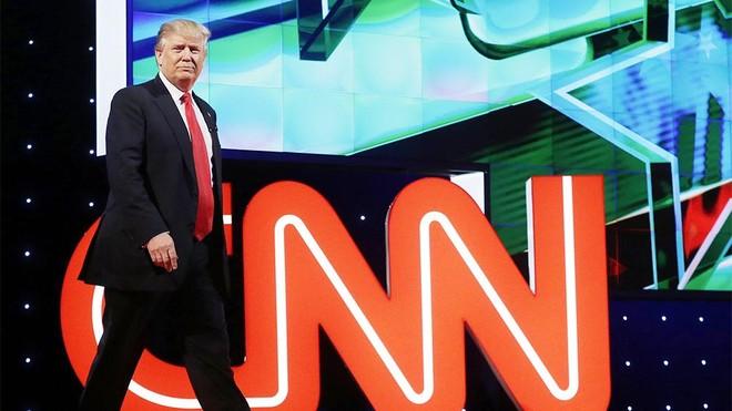 Hãng thông tấn CNN thất thu sau khi ông Donald Trump mãn nhiệm ảnh 1