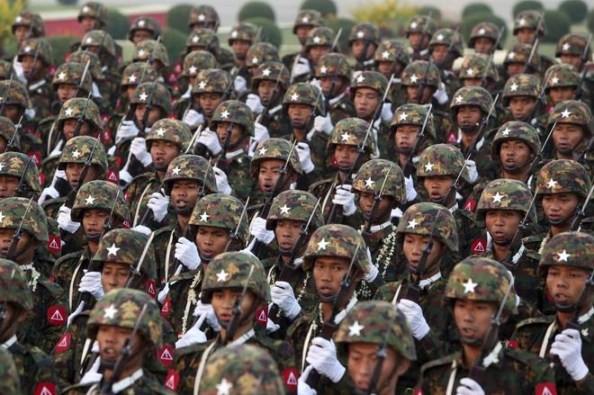 Tổng tham mưu trưởng quân đội 12 nước chỉ trích lực lượng vũ trang Myanmar ảnh 1