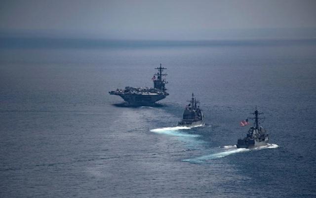 Mỹ - Ấn Độ khai mạc cuộc tập trận PASSEX tại Ấn Độ Dương ảnh 1