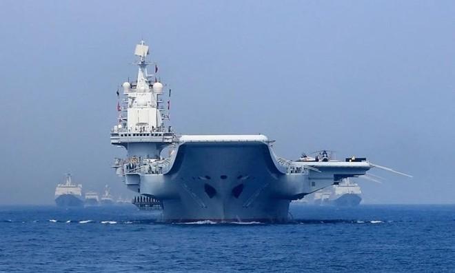 Tàu sân bay Trung Quốc đi qua eo biển Miyako, Nhật Bản theo dõi sát sao ảnh 1