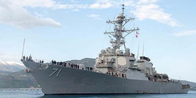 Mỹ triển khai cùng lúc 2 tàu chiến tới biển Đen ảnh 1