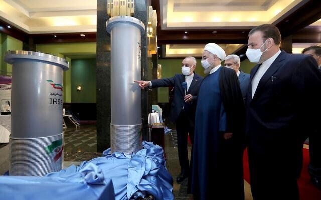 Iran tuyên bố làm giàu uranium lên mức 60% ảnh 1
