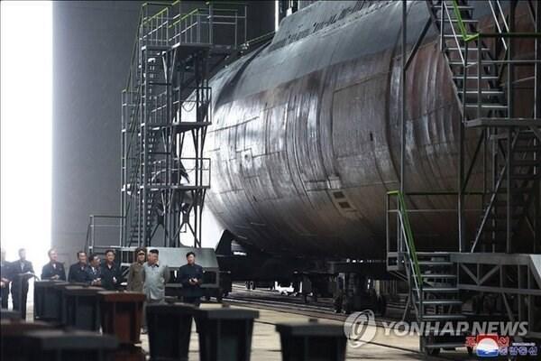Triều Tiên sắp đưa vào sử dụng tàu ngầm thế hệ mới?  Ảnh 1