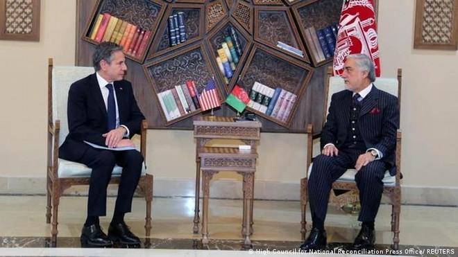 Ngoại trưởng Mỹ Antony Blinken bất ngờ thăm Afghanistan ảnh 1