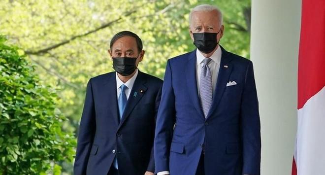 Lãnh đạo Mỹ - Nhật Bản thống nhất hợp tác kiềm chế Trung Quốc ảnh 1