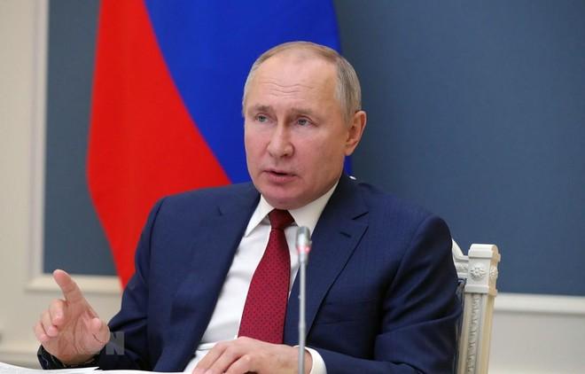 """Tổng thống Putin cảnh báo phương Tây không vượt qua """"ranh giới đỏ"""" ảnh 1"""