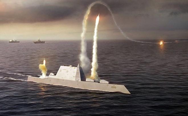 Mỹ sẽ trang bị tên lửa siêu thanh cho tàu khu trục lớp Zumwalt ảnh 1