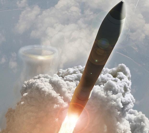 Mỹ thử nghiệm thất bại tên lửa Minuteman III ảnh 1