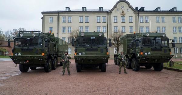 Thụy Điển tiếp nhận lô tên lửa phòng không Patriot 103 đầu tiên từ Mỹ ảnh 1