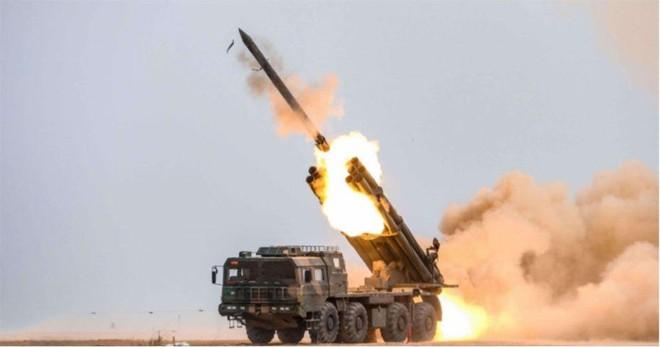 [ẢNH] Trung Quốc triển khai hệ thống rocket phóng loạt PHL-03 đến gần biên giới Ấn Độ ảnh 3