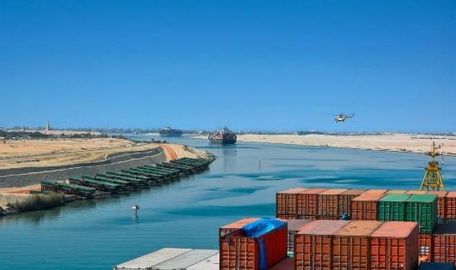 Ai Cập bắt đầu hoạt động mở rộng kênh đào Suez ảnh 1