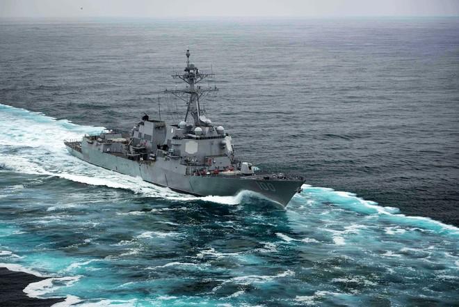 Trung Quốc phản ứng vụ tàu chiến Mỹ đi qua eo biển Đài Loan ảnh 1