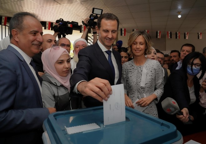 Tổng thống Syria Assad tái đắc cử nhiệm kỳ thứ 4 với chiến thắng áp đảo ảnh 1