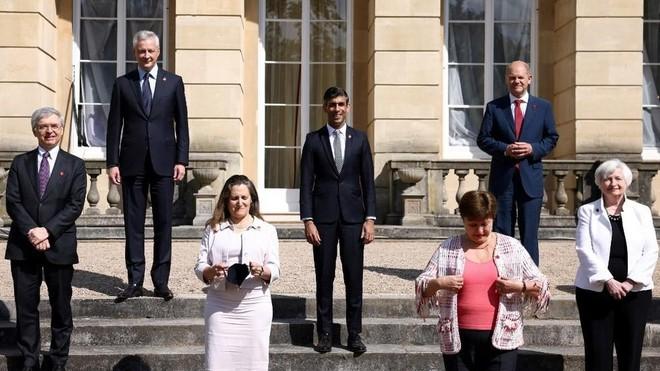 G7 đạt thỏa thuận lịch sử về đánh thuế doanh nghiệp toàn cầu ảnh 1
