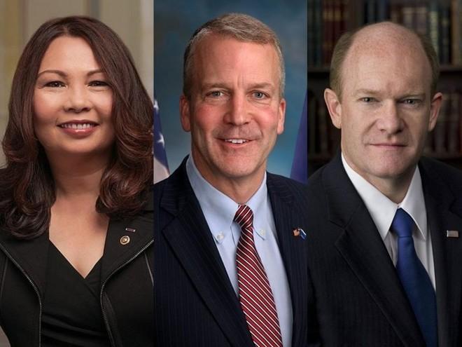 Đoàn thượng nghị sĩ Mỹ tới thăm Đài Loan ảnh 1