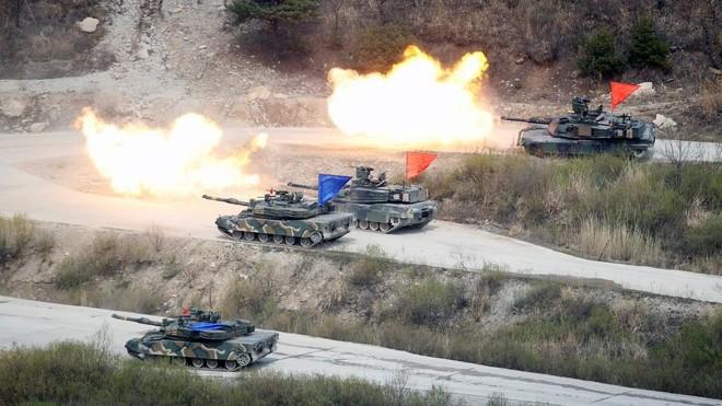 Bộ trưởng Hàn Quốc lo ngại tập trận với Mỹ sẽ khiêu khích Triều Tiên ảnh 1