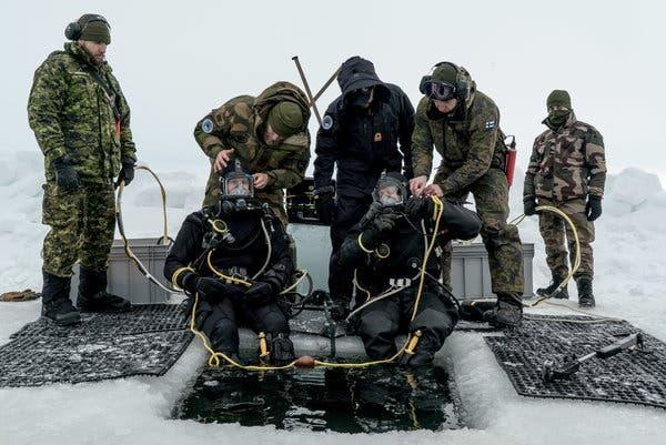 Nga quan ngại cuộc tập trận của NATO tại Bắc Cực ảnh 1
