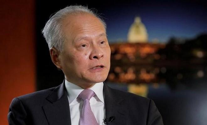 Đại sứ Trung Quốc tại Mỹ viết thư chia tay để chuẩn bị về nước ảnh 1