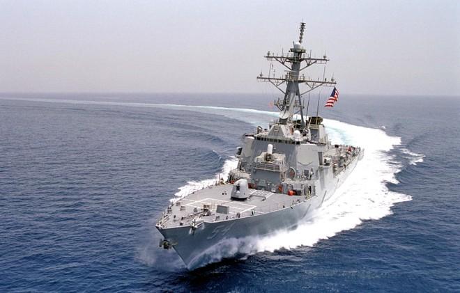 Tàu chiến Mỹ đi qua eo biển Đài Loan, Trung Quốc phản ứng gay gắt ảnh 1