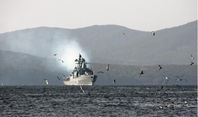 Nhật Bản phản đối Nga tập trận tại quần đảo Kuril ảnh 1