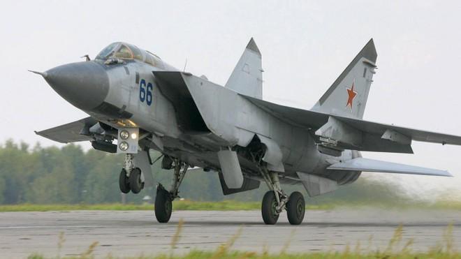 Nga lần đầu triển khai máy bay MiG-31K diễn tập tại Syria ảnh 1