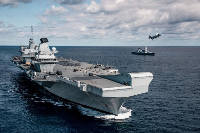 Tàu chiến Anh sẽ triển khai lâu dài đến khu vực châu Á ảnh 1
