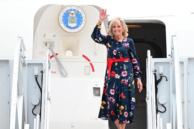 Đệ nhất phu nhân Mỹ dẫn đầu đoàn ngoại giao ủng hộ Thế vận hội Tokyo ảnh 1