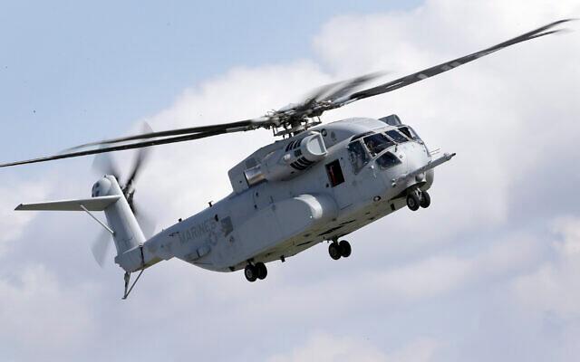 Mỹ đồng ý bán cho Israel 18 trực thăng vận tải hạng nặng CH-53K ảnh 1