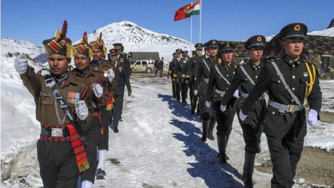 Chỉ huy quân đội Trung Quốc - Ấn Độ thảo luận về tình hình biên giới ảnh 1