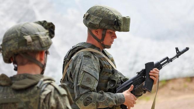 Nga tập trận rầm rộ cùng đồng minh đề phòng tình hình Afghanistan ảnh 1