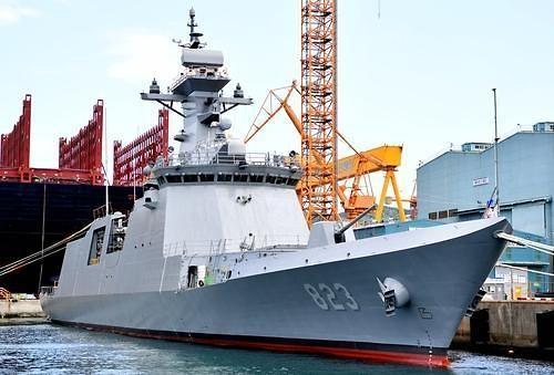 Hàn Quốc hạ thủy tàu hộ vệ Pohang với nhiều cải tiến mới ảnh 1