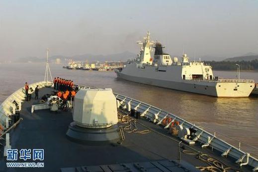 """Trung Quốc """"vác"""" tàu chiến ra Thái Bình Dương diễn tập ảnh 7"""