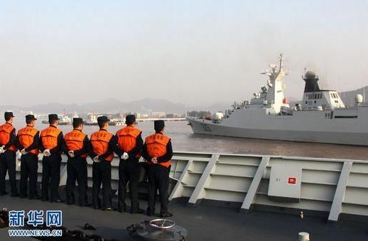 """Trung Quốc """"vác"""" tàu chiến ra Thái Bình Dương diễn tập ảnh 8"""