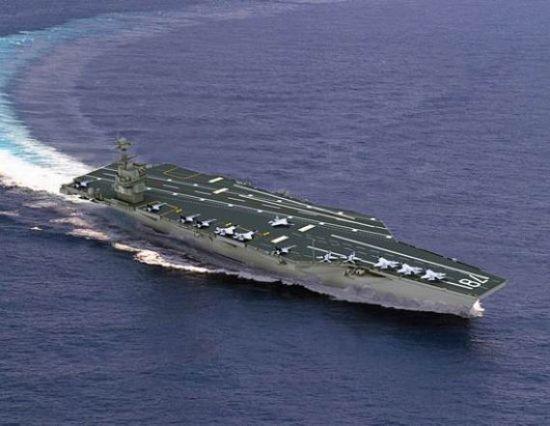 Siêu tàu sân bay thứ 3 thuộc lớp Ford sẽ mang tên Enterprise ảnh 1