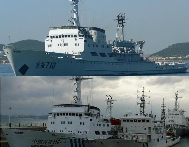 """Giật phăng """"mặt nạ"""" các tàu hải giám giả hiệu của Trung Quốc ảnh 1"""