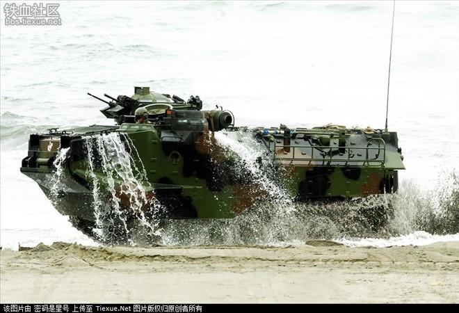 Nhật sẽ mua thêm 4 xe thiết giáp lưỡng thê AAV-7