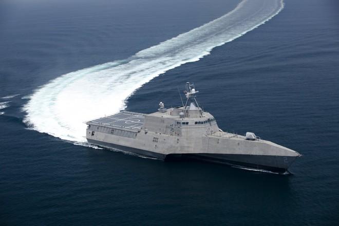 Thái Lan sẽ có tàu tác chiến ven bờ LSC khủng của Mỹ? ảnh 1