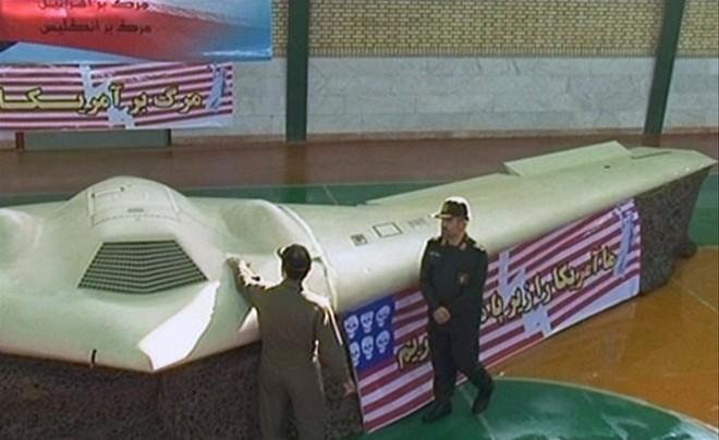 """Iran lại """"tóm sống""""máy bay không người lái của Mỹ? ảnh 1"""