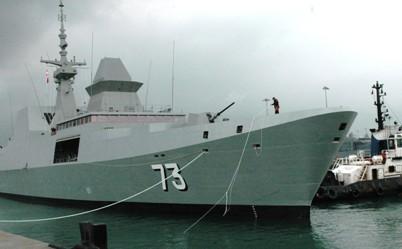 Hải quân Singapore và Malaysia diễn tập Malapura 2013 ảnh 2
