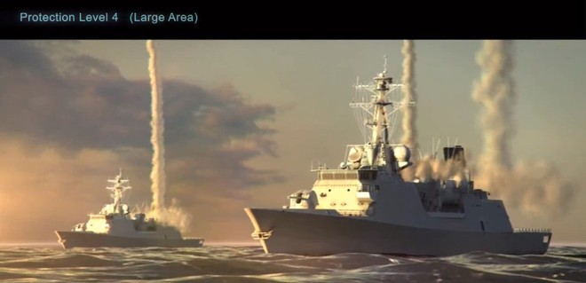 Tàu chiến Mỹ mô phỏng bắn hạ hàng loạt tên lửa đối hạm C-802 của Trung Quốc ảnh 2