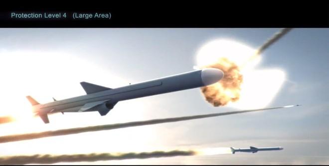 Các tên lửa C-802 lần lượt bị tiêu diệt
