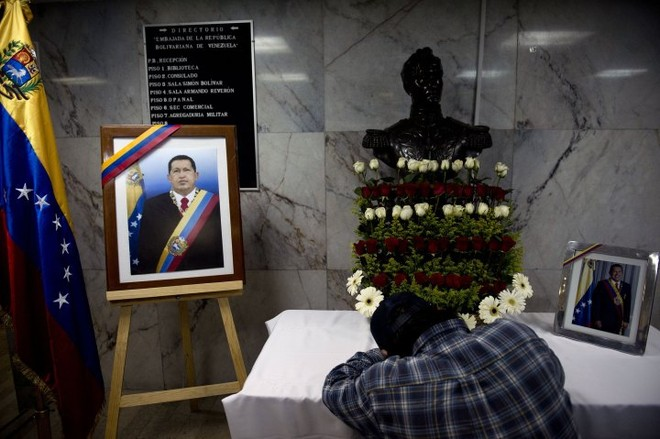 Thi hài cố Tổng thống Chavez được ướp và trưng bày vĩnh viễn ảnh 7