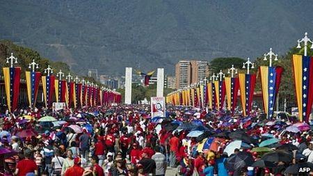 Thi hài cố Tổng thống Chavez được ướp và trưng bày vĩnh viễn ảnh 1