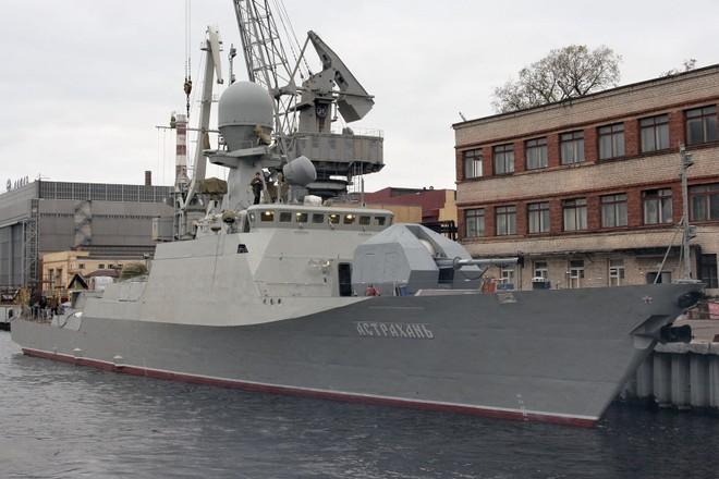 Hạm đội Caspian (Nga) nhận hàng loạt chiến hạm hiện đại ảnh 2