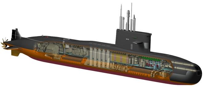 """Trung Quốc lại """"vỡ mộng"""": Tàu ngầm Amur-1650 không có động cơ AIP ảnh 2"""