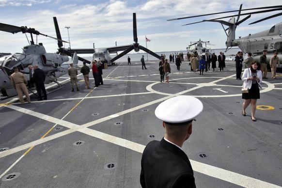 Khám phá siêu hạm đổ bộ mới nhất của hải quân Mỹ ảnh 2