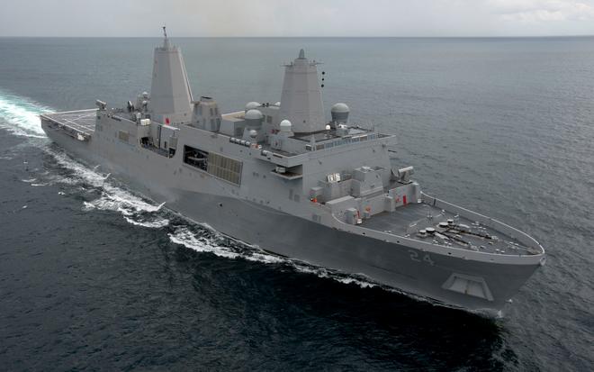 Khám phá siêu hạm đổ bộ mới nhất của hải quân Mỹ ảnh 1