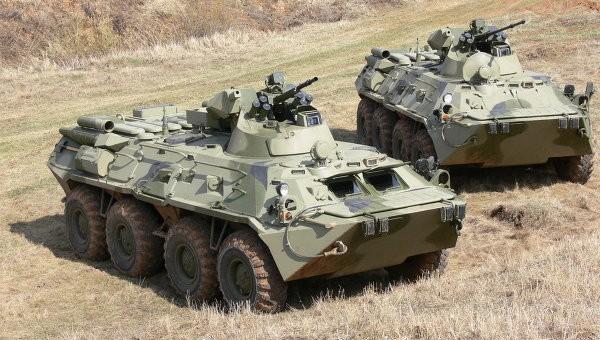 Nga thử nghiệm xe thiết giáp lội nước BTR-82AM ảnh 1